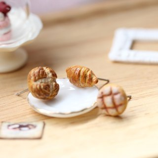 Pocket Classic Bread Earrings Miniature Classic Bread Earring