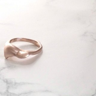 flower shower ring (rose)