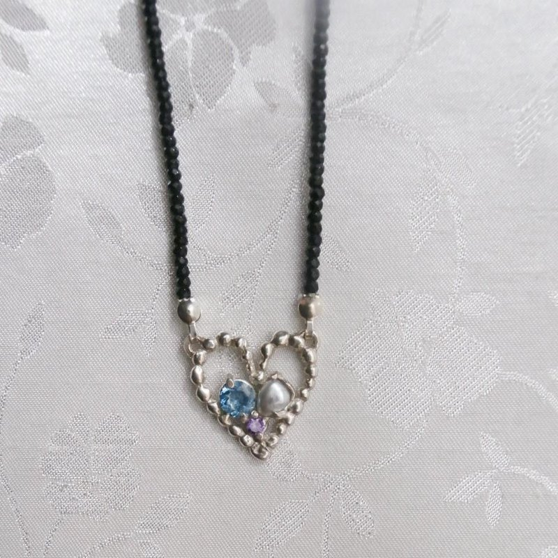 Grain grain Heart Necklace