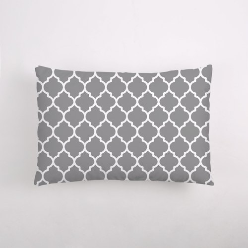 Morocco Moroccan Quatrefoil classic pattern Shu Mian pillow - customizable favorite color