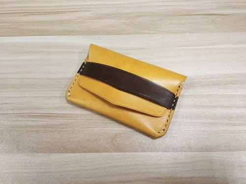 "Customized! MICO hand leather leather wallet (exposing type) ""order orders"""