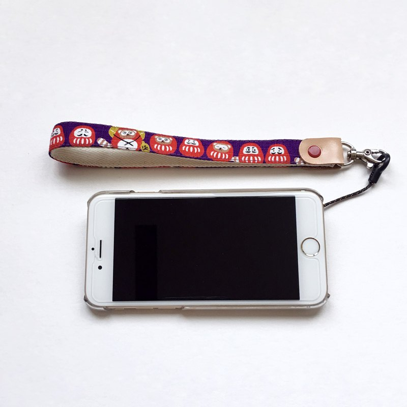 Dharma tumbler mobile phone sling / hand rope / jewelry