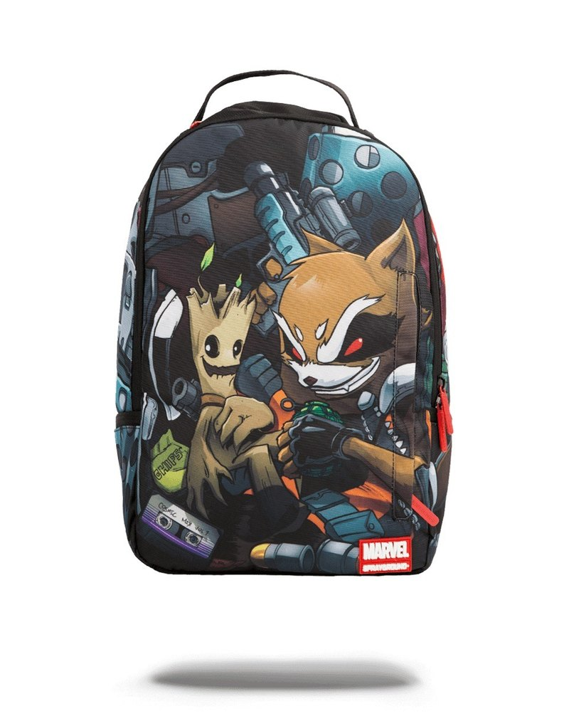 【SPRAYGROUND】DLX MARVEL 聯名系列 Guardians of the Galaxy Stowaways 星際異攻隊偷渡潮流筆電後背包