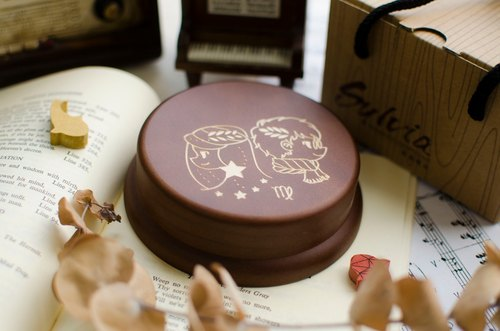 [Birthday Gift, Commemorative Gift, Christmas Gift] 12 Constellation Virgo / Music Box