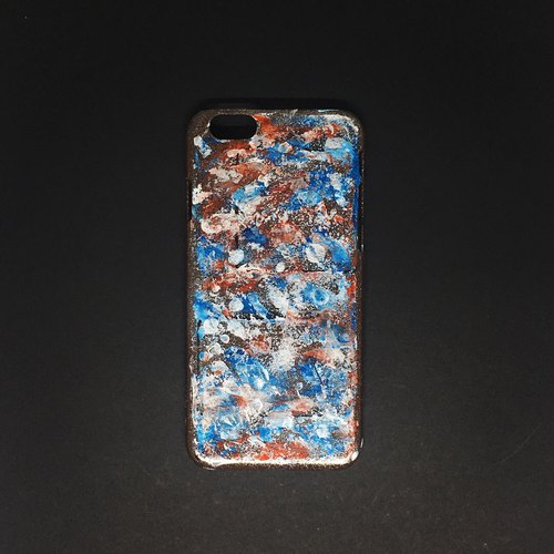 Acrylic Hand Paint Phone Case | iPhone 6/6s | Ice Fire