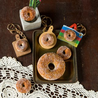 [Hand Wrap Felt] Donut Bread (magnet / pin / key ring variety optional)