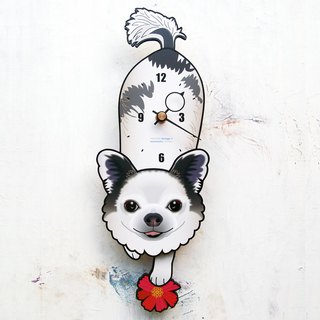 D-98 Chihuahua (smile) - Pet's pendulum clock