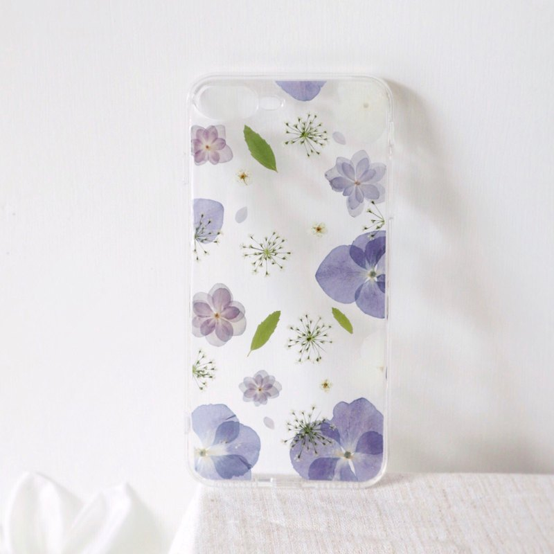 iPhone mobile phone case iPhone series / customizable / purple