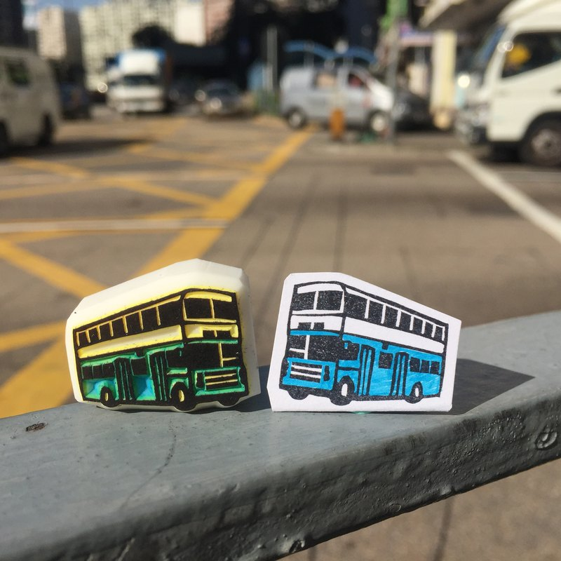 Hong Kong Bus Rubber Stamp