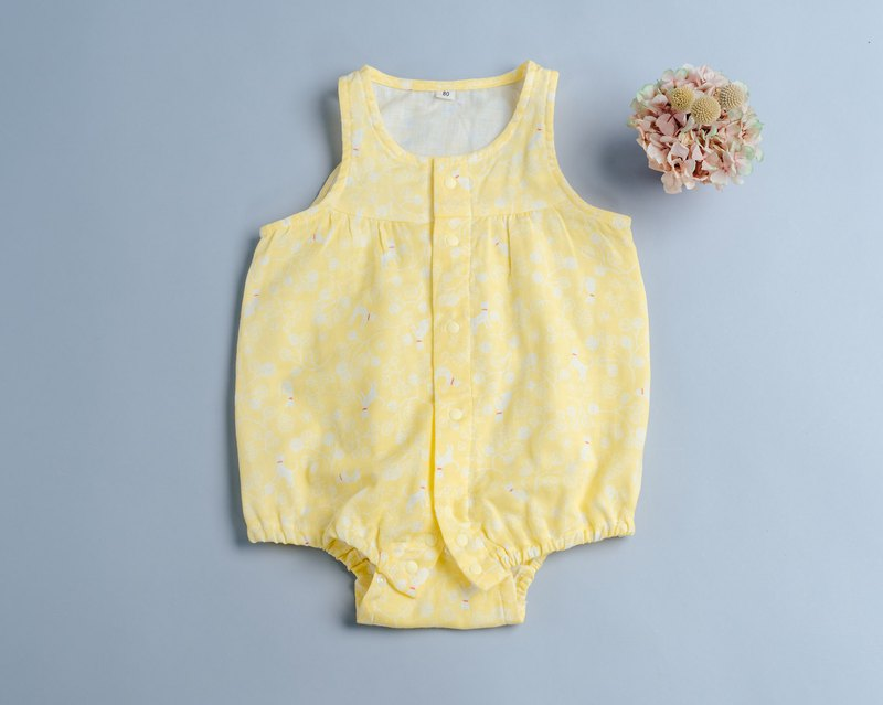 Wind and sleeveless package fart - sunshine kitten baby toddler newborn