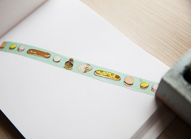French Sweets Washi Tape