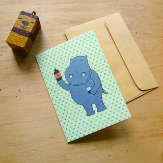 Small Gift Cards Small Hippo