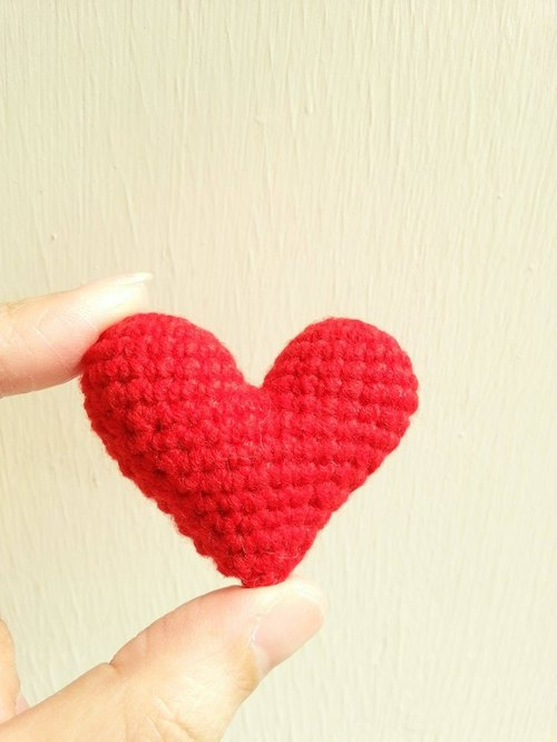 [Wedding] heart 囍 key ring - a heart version