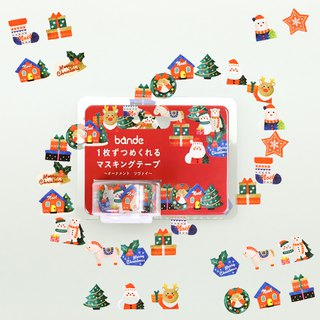 bande masking rolling sticker -- Christmas decorations