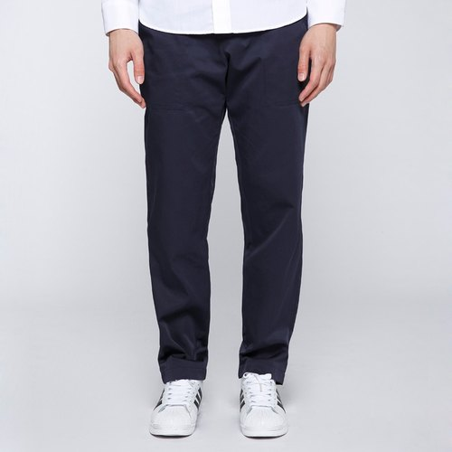 CA Dylan Pants unilateral W-pocket trousers men - Blue