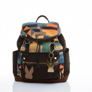 Khieng Atelier Diamond Bunny Adventure Light Backpack