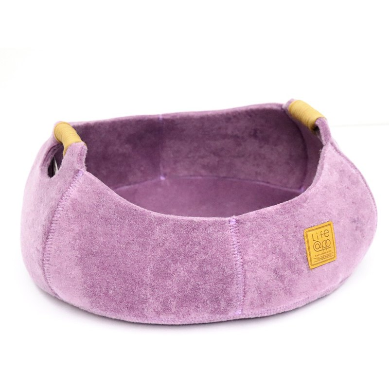 Cat Basket - Lavender Purple (for cats and small dogs)