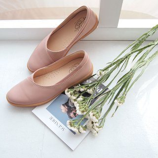 Nappa Leather x Slip-on Shoes (Lotus pink)