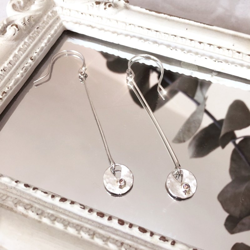 MIH Metal Jewelry | Happy Day Happy Birthday 925 Sterling Silver Earrings sterling silver earrings