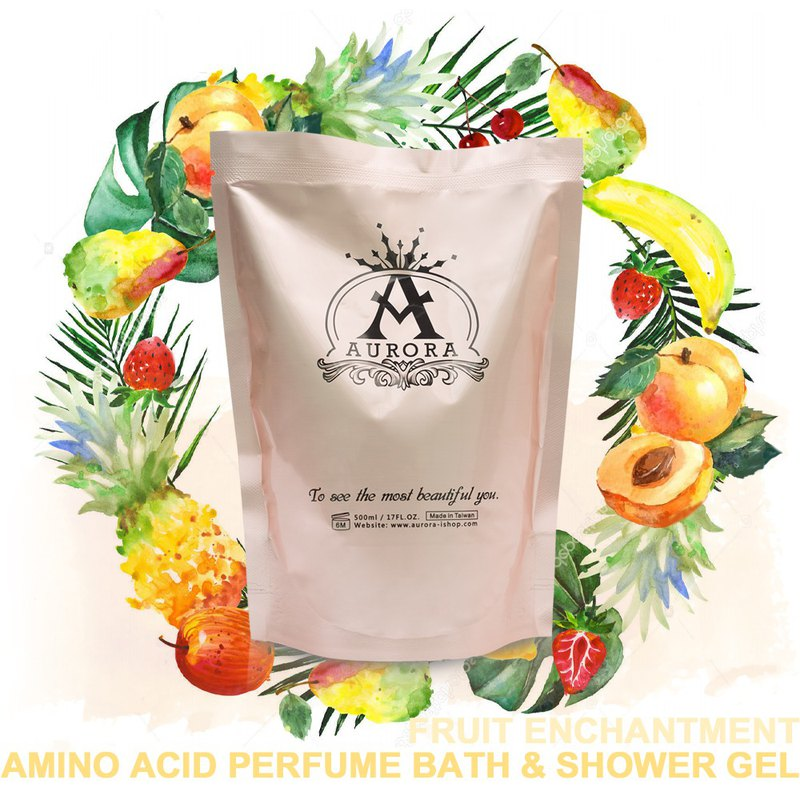 Candied lover amino acid perfume shower gel supplement pack 500ml