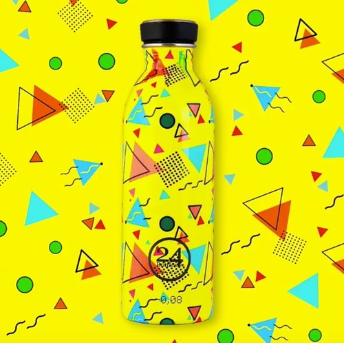 24Bottles Limited Geometric Collection SS17 - Urban Bottle Big Bubble - 100g lightweight Stainless Steel Bottle