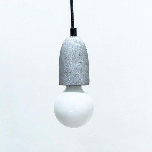 ▍Zingidea & Design LAB ▍Cylinder cement ceiling lamp