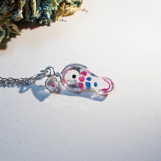 Fish and water _ transparent resin _ bracelet _ cute route _ hand fish with you shopping _a