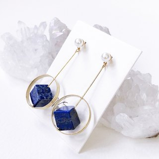 LapisLazuli Non allergic earrings