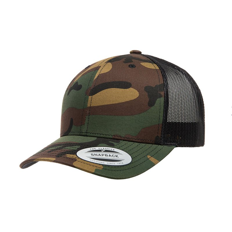 Piece Yupoong-Low Profile Cotton Twill ::Camo::