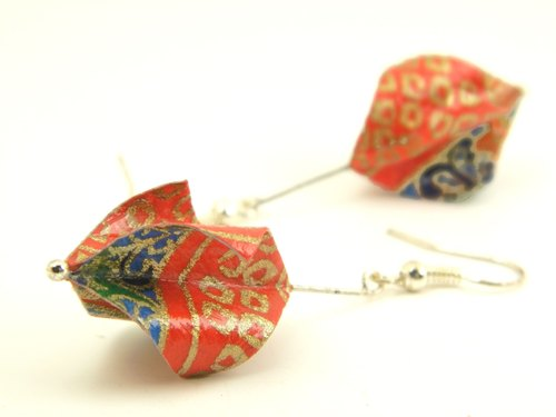 Earrings origami (Sukuryu Y14BOS2IAr)