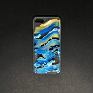 Acrylic Hand Paint Phone Case | iPhone 7/8  | Atlantic