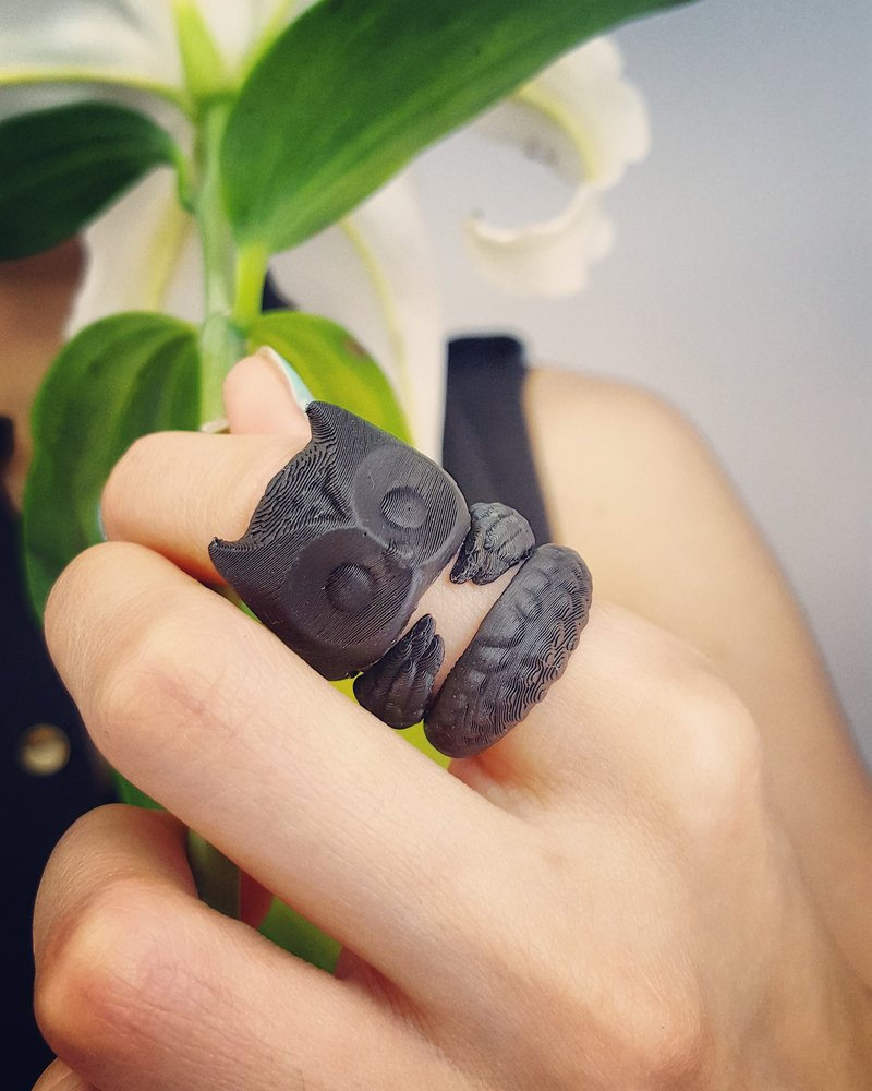 Stereo Printing ~ Owl Tricyclic Ring