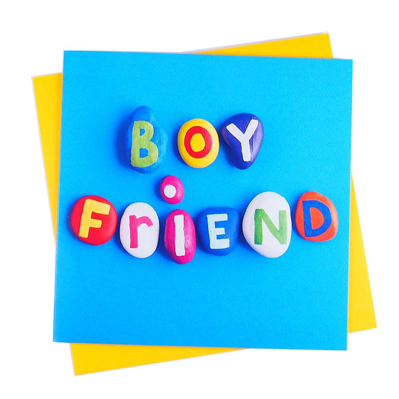 Boyfriend [The Art Group--card sweet talk]