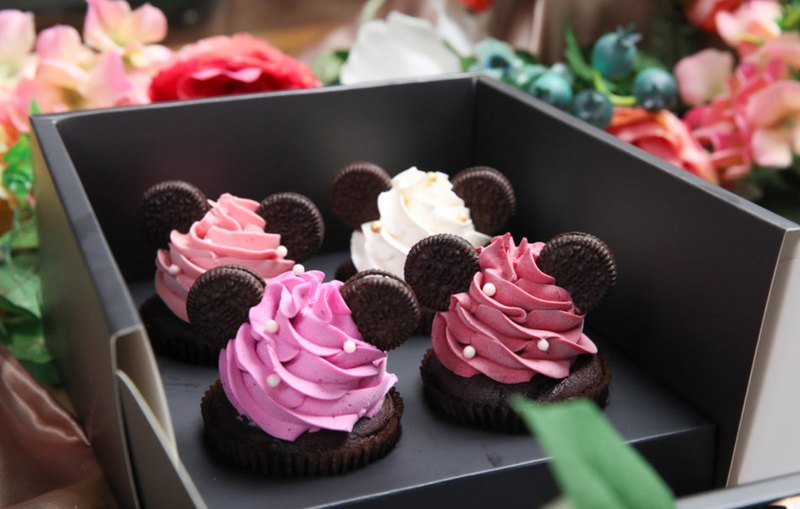 Rat Your Richest Four Cupcakes Gift Box 2020