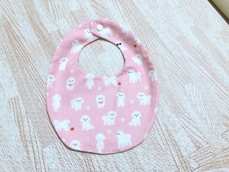 Limited spot area / cute dogs. High-quality Korean cotton. Manual double-sided bib. Thickening