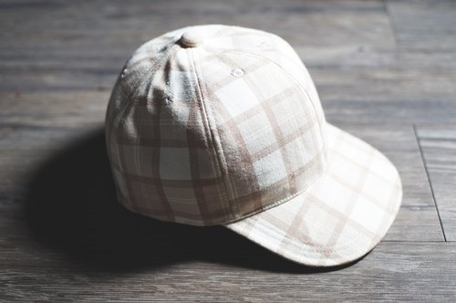 <7折>kōgōsei - Plaid baseball Cap