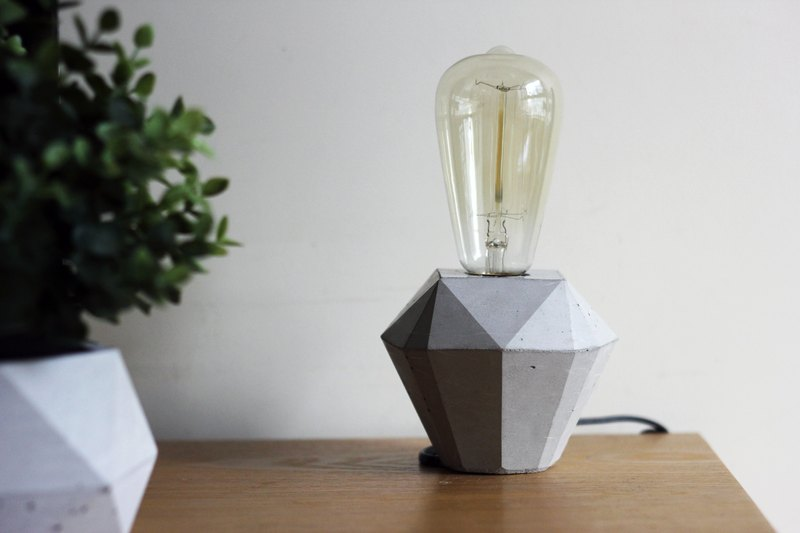Diamond cement lamp holder