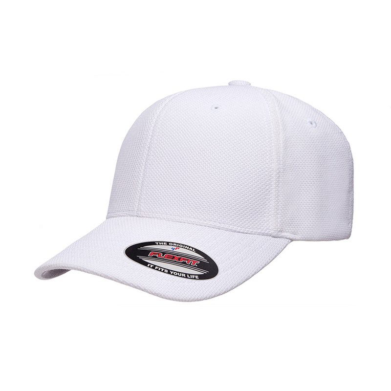 Piece Yupoong Flexfit Cool & Dry::White::