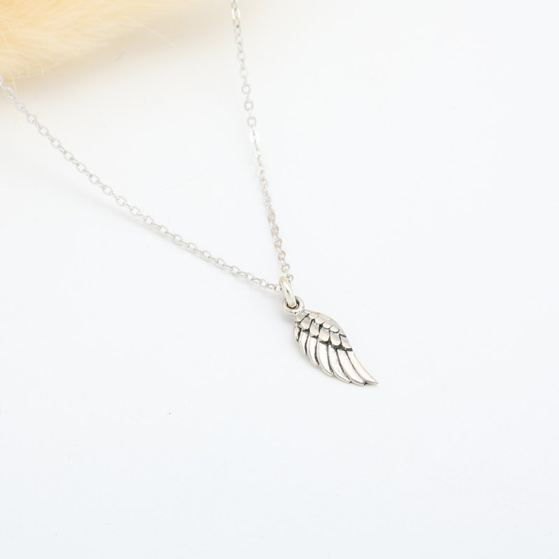 Angel Wing (small) s925 sterling silver necklace Valentine's Day gift