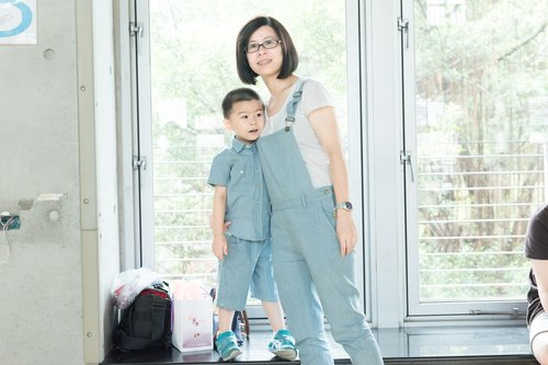 """Pure hand"" parent child pants - mother"