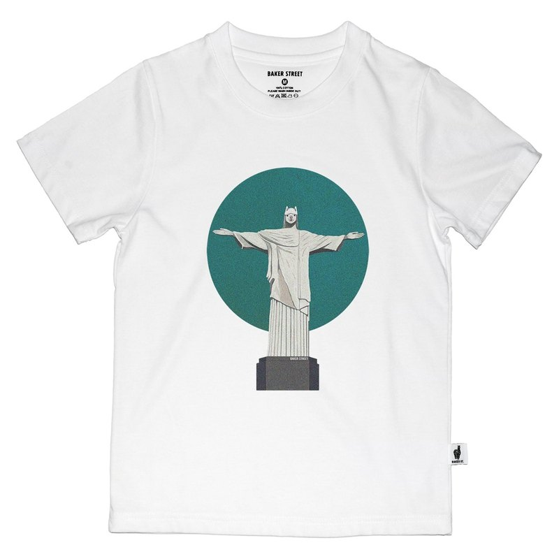British Fashion Brand [Baker Street] Alpaca Redentor Printed T-shirt for Kids