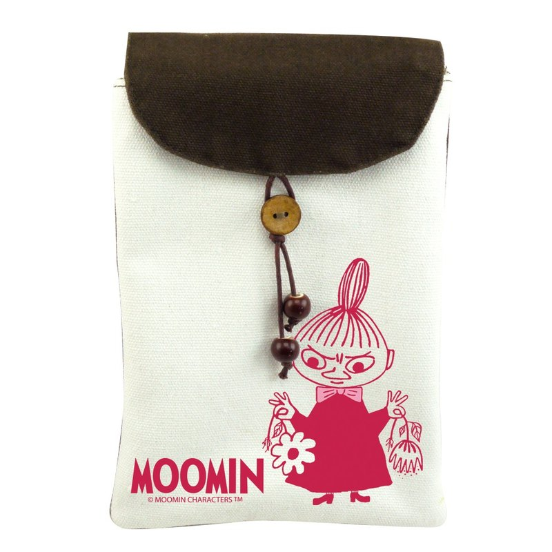 Moomin Moomin authorization - cell phone pocket: [] Little My (shoulder)
