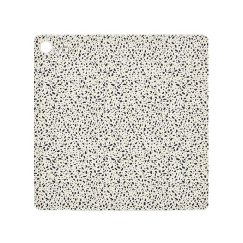 Square Silicone Placemat / Dot Granite (2 groups)