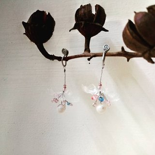 Bubble Flower - Beaded Earrings (pair)