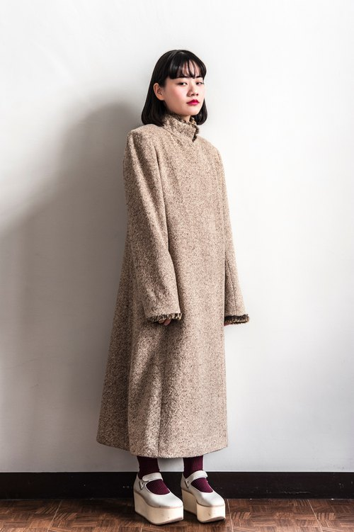 Vintage GIVENCHY earth color name brand vintage coat