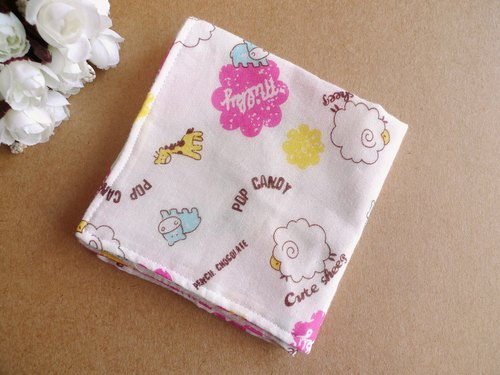 Bleater - cotton gauze handkerchief