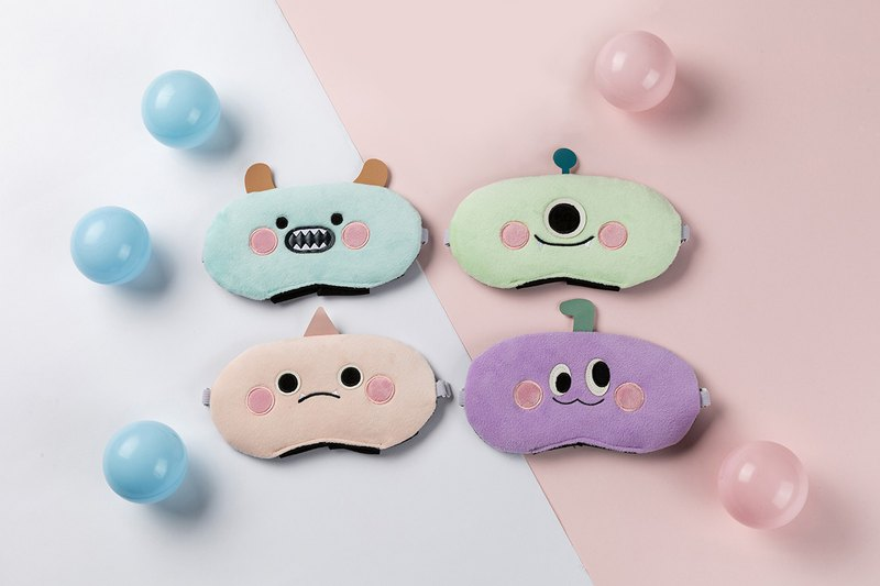Little Monster Series 3.0 USB Hot Compression Eye Mask (Two Piece Set)