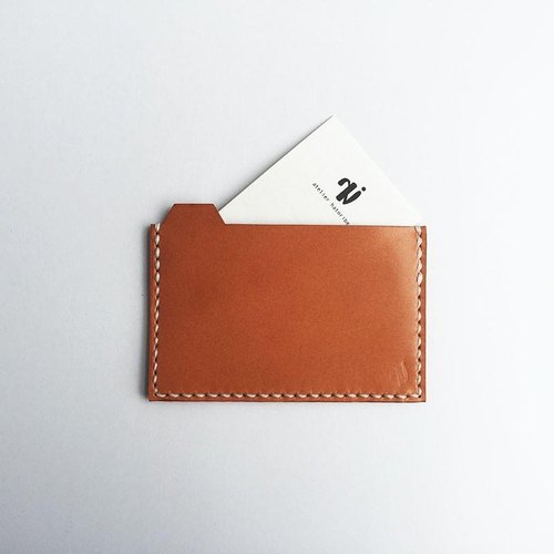Card Case Camel to sort by folder