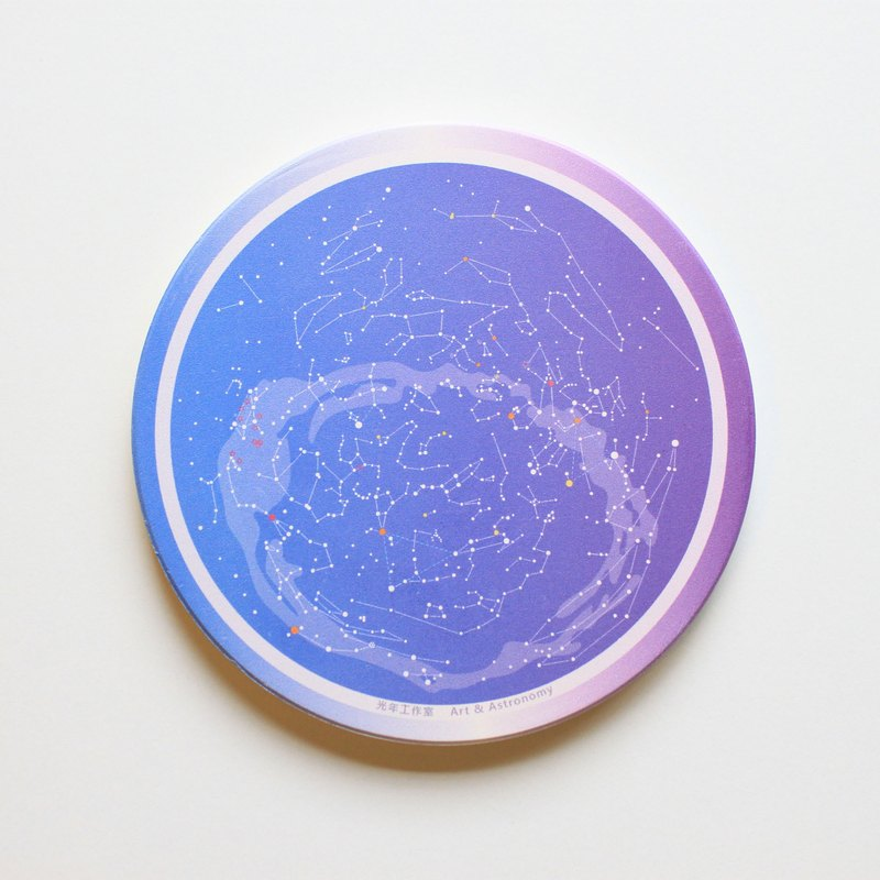 All-day planetary ceramic coasters (gradient)
