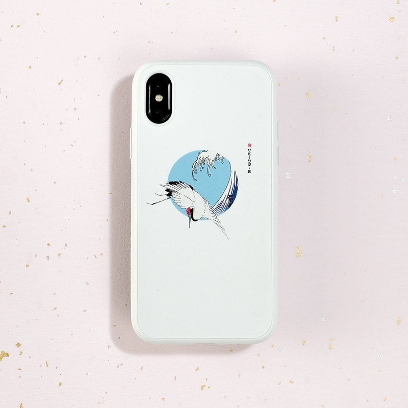 SolidSuit Classic Drop-proof Mobile Phone Case / Ukiyo-e Series-Soaring for iPhone 11 Series
